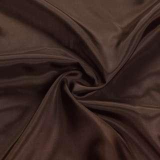 Ацетат коричневый темный, ш.140
