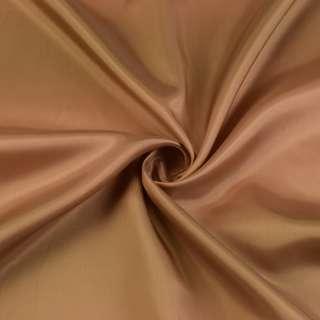Ацетат бежево-коричневый, ш.140