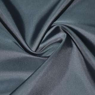 вискоза подклад. синяя в мелкий рубчик, ш.140