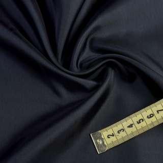 Вискоза подкладочная синяя темная, ш.140