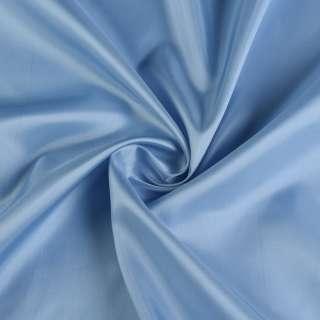 Вискоза подкладочная голубая темная, ш.140