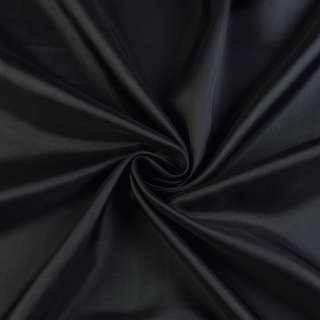 Вискоза подкладочная черная, ш.140