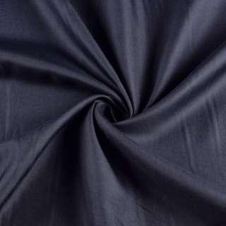 вискоза подкладочная черно-синяя, ш.143