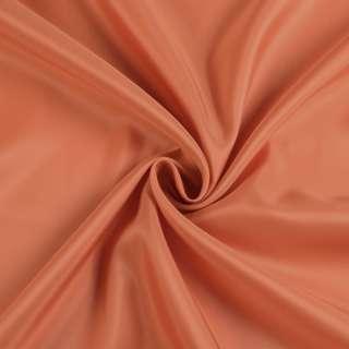 Вискоза-ацетат оранжевая темная, ш.152