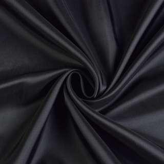 Вискоза-ацетат черная, ш.140