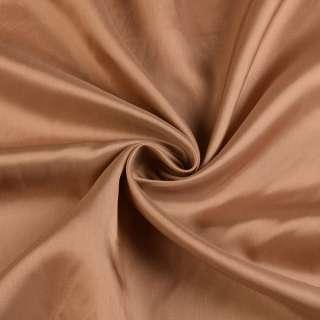 Вискоза-ацетат коричневая светлая, ш.140