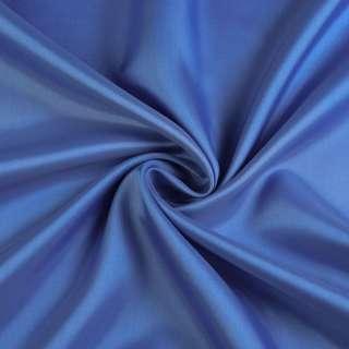 Вискоза-ацетат синяя, ш.138