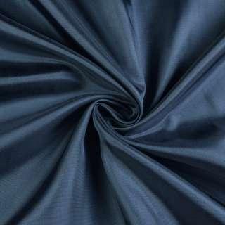 Вискоза-ацетат синяя темная, ш.138