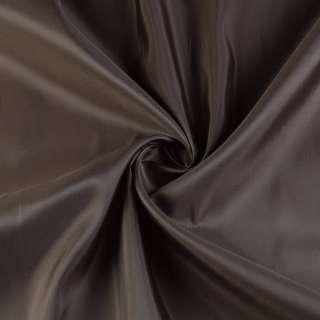 Вискоза-ацетат коричневая темная, ш.153