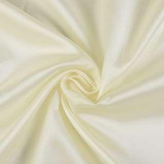 Вискоза-ацетат кремовая светлая, ш.140