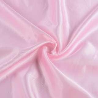 Вискоза подкладочная розовая диагональ, ш.145