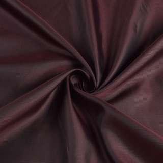 Вискоза подкладочная бордовая в полоску, ш.145