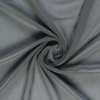 Креп-шифон серый, ш.150