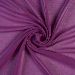 Креп-шифон фиолетовый, ш.150