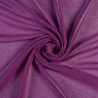 Креп-шифон фіолетовий, ш.150