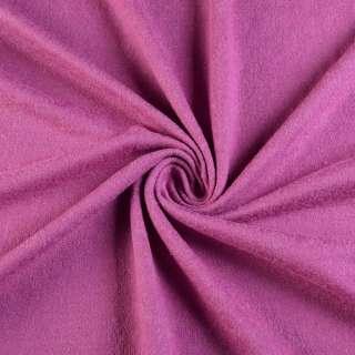 Трикотаж шерсть с шелком лиловый, ш.137