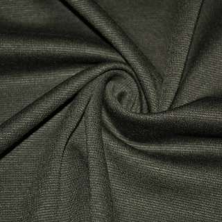 Трикотаж костюмный болотно серый ш.150