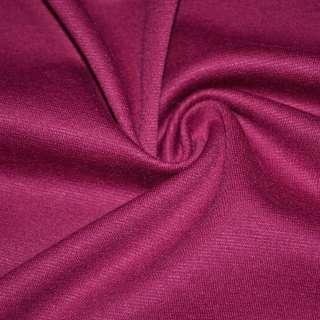 Трикотаж костюмный малиновый ш.150