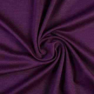 Трикотаж костюмный фиолетовый ш.150