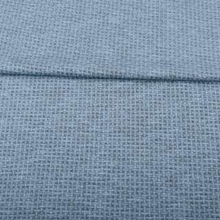 Джерси жаккард серо-голубой меланж, ш.155