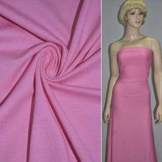 Трикотаж вискозный розовый ш.150
