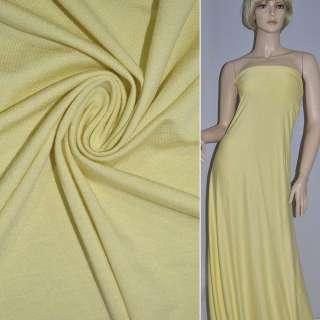 Трикотаж желтый ш.150