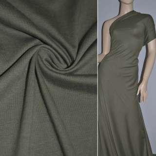 Трикотаж темно зеленый ш.150