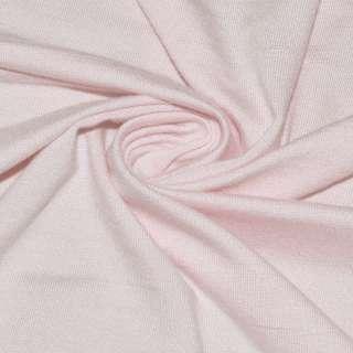 Трикотаж віскозний рожевий, ш.145