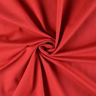Трикотаж вискозный стрейч красный ш.148