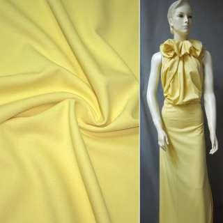 Трикотаж жовтий ш.130
