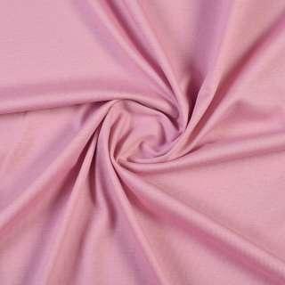 Трикотаж хлопковый розовый, ш.150
