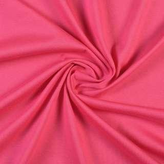 Трикотаж хлопковый розовый фуксия, ш.144