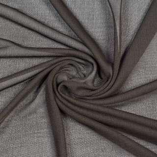 Трикотаж коричневый темный, ш.145
