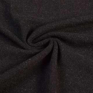 Трикотаж с ангорой черный, ш.145