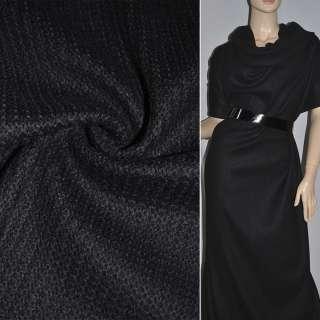 Трикотажное полотно черное ш.120