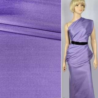 Шелк атласный плотный светлый фиолетовый ш.135