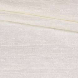 Шелк атласный плотный жемчужно-белый ш.122