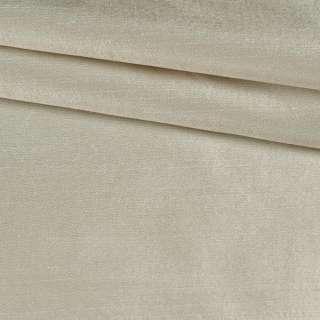 Шелк атласный плотный светлый бежевый ш.134