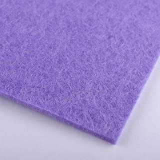 Повсть (для рукоділля) блідо-фіолетова (2 мм) ш.100