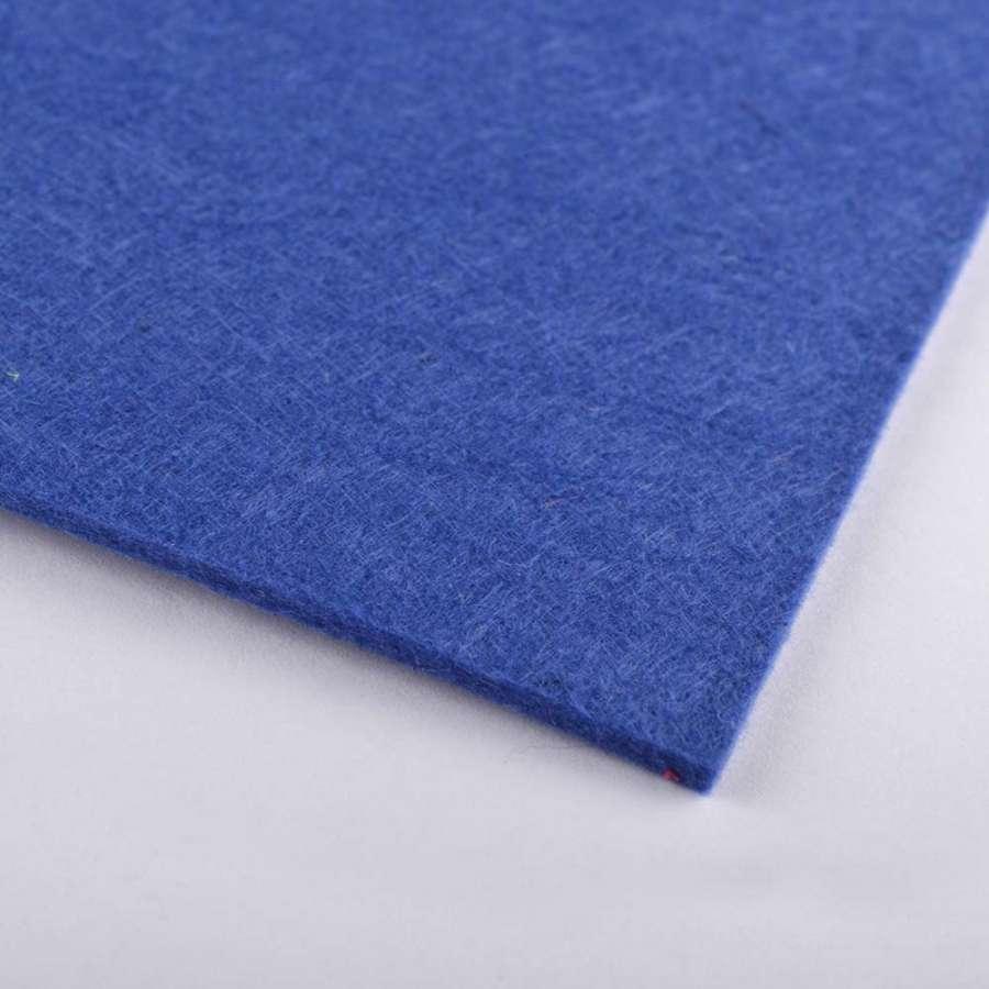 войлок (для рукоделия) синий (2мм) ш.100