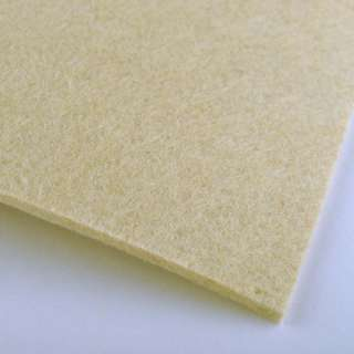 Повсть (для рукоділля) ванільна (2 мм) ш.100