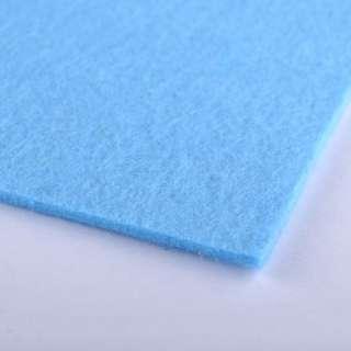 Войлок (для рукоделия) ярко-голубой (2мм) ш.100