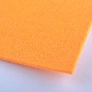 Повсть (для рукоділля) помаранчева (2 мм) ш.100