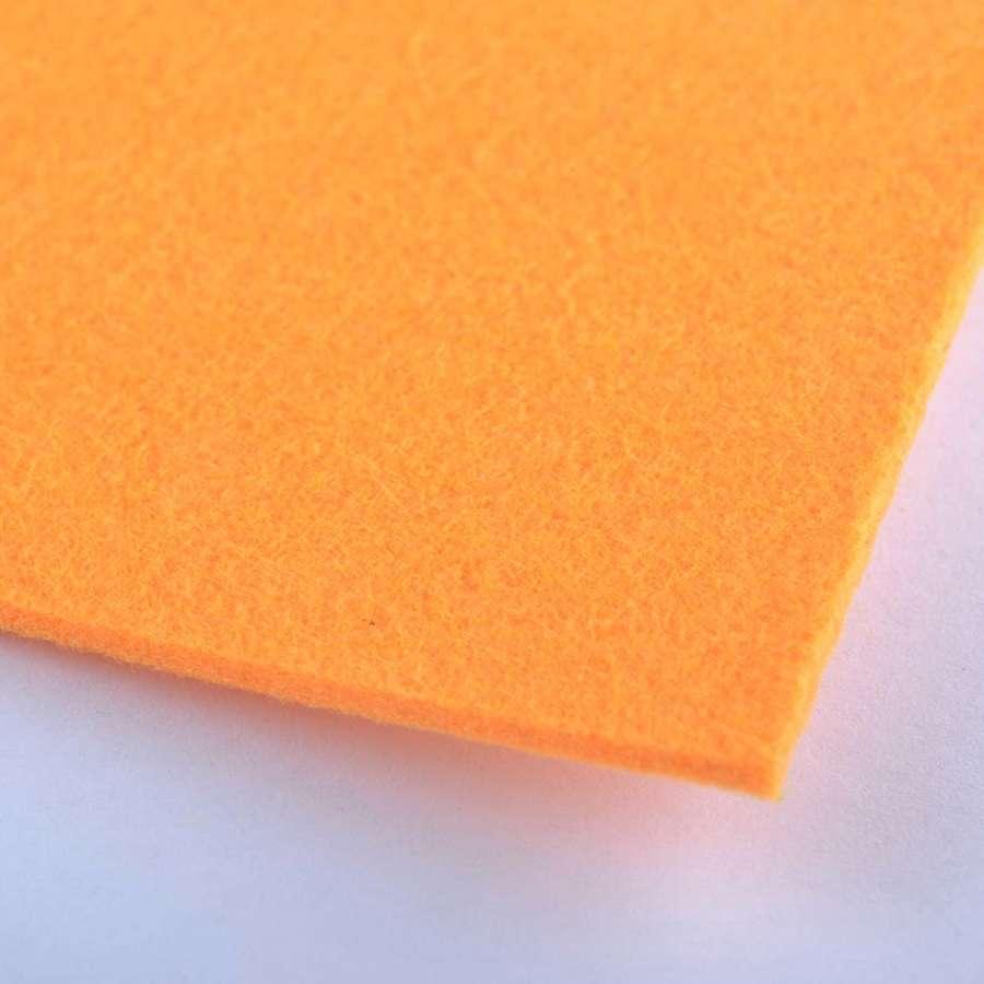 войлок (для рукоделия) оранжевый (2мм) ш.100