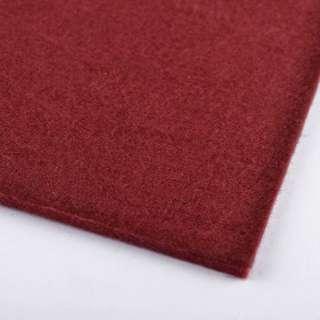 Войлок (для рукоделия) бордовый (2мм) ш.100
