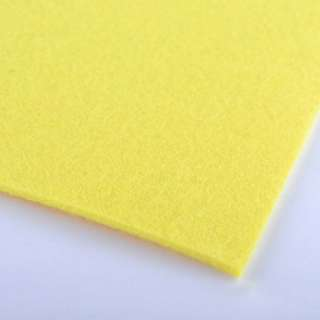 Войлок (для рукоделия) ярко-желтый (2мм) ш.100