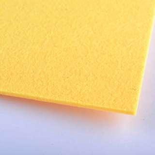 Повсть (для рукоділля) жовто-мандаринова (2 мм) ш.100