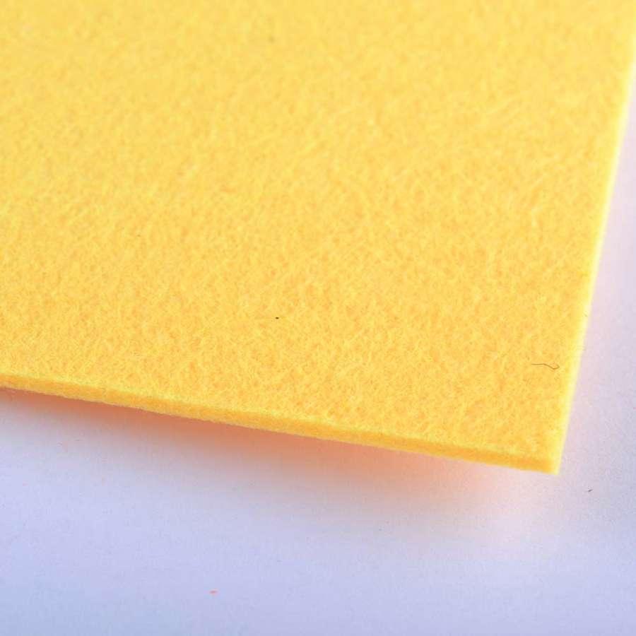 войлок (для рукоделия) желто-мандариновый (2мм) ш.100