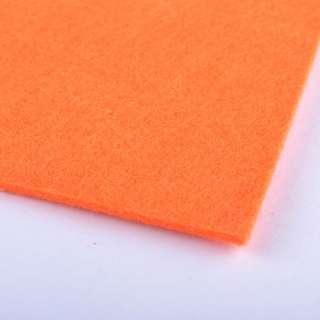 Повсть (для рукоділля) морквяна (2 мм) ш.100