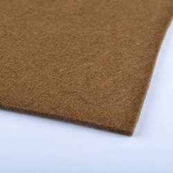 Войлок (для рукоделия) коричневый (2мм) ш.100
